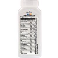 Вітаміни Mega Multi for Men Multivitamin & Multimineral 21st Century 90 таблеток, фото 2
