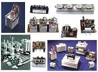 Мощные диоды, тиристоры (в том числе быстродействующие импульсные), модули от 10 до 1600 А, от 300 д