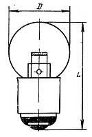 Лампа РН 2,5-0,72 B15s/18