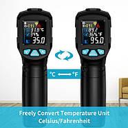 Інфрачервоний термометр Mestek IR01D (-50 ~ 800 ℃), фото 2