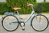 """Велосипед жіночий AIST JAZZ 1.0 """"26 CTB з кошиком, фото 1"""