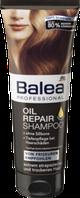 Профессиональный шампунь Укрепление и восстановление волос с маслом Арганы  Balea  Oil Repair  250 мл.
