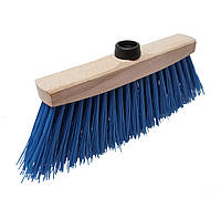 Метла уличная (Крепление пластик) синий 25см - Golwood, фото 1