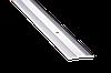 Поріжок підлоговий 3х40х1800 мм 1а срібло алюмінієвий