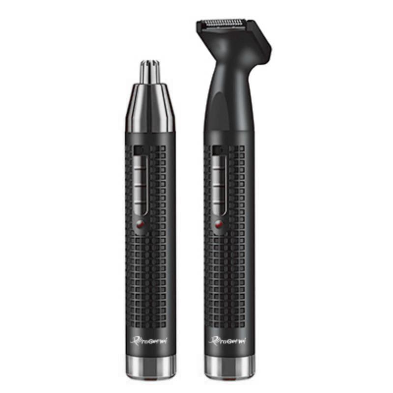 Триммер для носа і вух і брів акумуляторний окантовочні Progemei Gm-3120 Машинка для стрижки