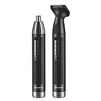 Триммер для носа і вух і брів акумуляторний окантовочні Progemei Gm-3120 Машинка для стрижки, фото 1