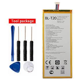 Аккумулятор BL-T20 для LG G Pad X 8,0 V521 (ёмкость 4650mAh)