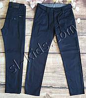 Котоновые штаны для мальчика 6-10 лет(темно синие 02шн) розн пр.Турция