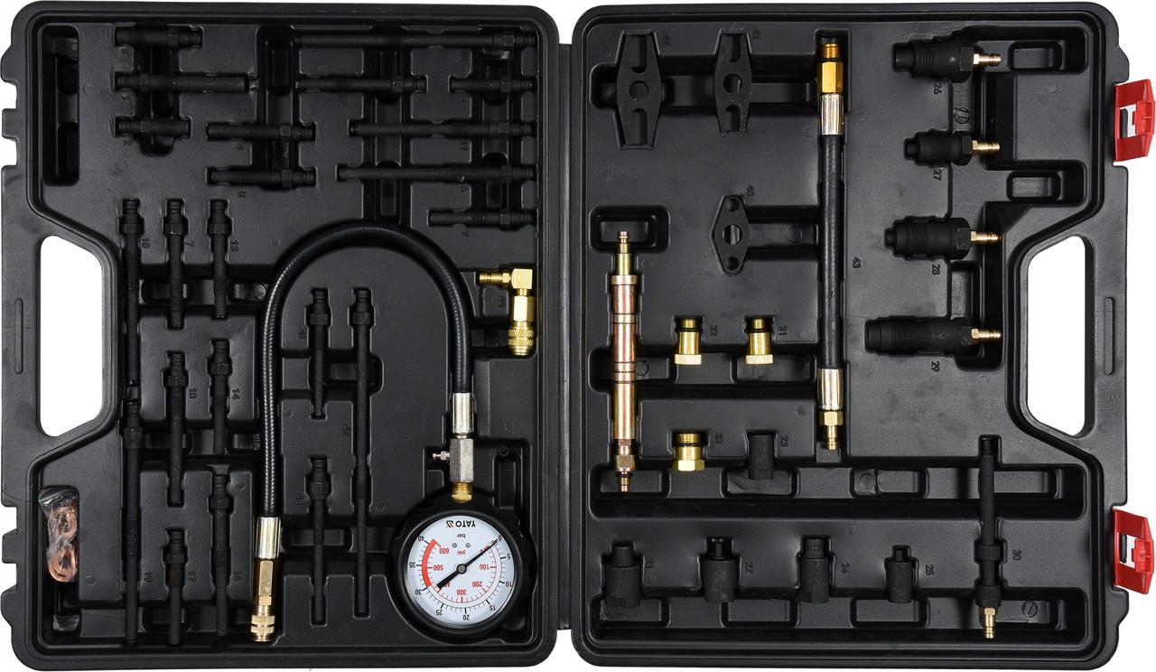 Компрессометр для бензиновых и дизельных двигателей YATO YT-73012