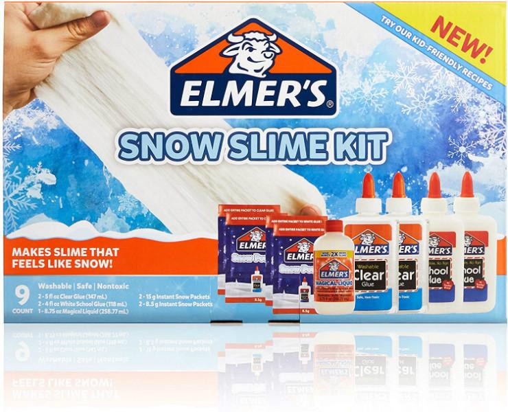 Elmer's Набор для создания Снежного слайма 2091056 Snow Slime Kit