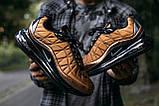 Кроссовки мужские в стиле Nike Air Max 720 termo bronze, кроссовки Найк Аир Макс 720 термо (Реплика ААА), фото 7