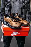 Кроссовки мужские в стиле Nike Air Max 720 termo bronze, кроссовки Найк Аир Макс 720 термо (Реплика ААА), фото 6