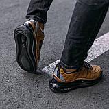 Кроссовки мужские в стиле Nike Air Max 720 termo bronze, кроссовки Найк Аир Макс 720 термо (Реплика ААА), фото 3