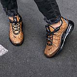 Кроссовки мужские в стиле Nike Air Max 720 termo bronze, кроссовки Найк Аир Макс 720 термо (Реплика ААА), фото 5