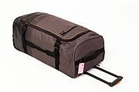Большая дорожная сумка 110л. на колесах c выдвижной ручкой. Чемодан дорожный Newfeel NF-001