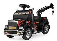 Детский электромобиль с пультом BAMBI ZPV118BR-2 черный Тягач