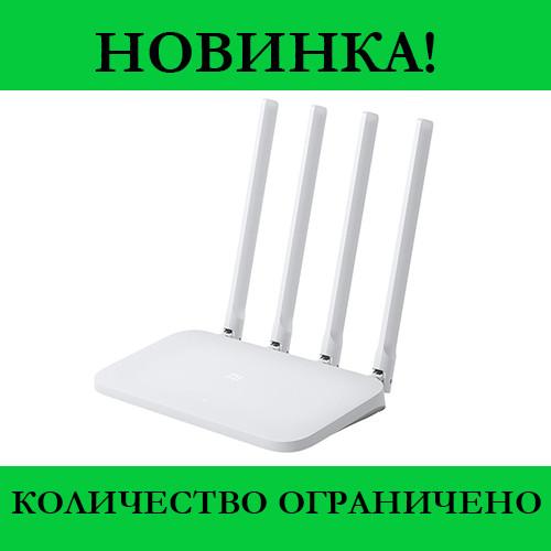 Роутер Хiaomi WiFi MiRouter 4C (White)- Новинка