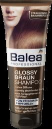 Профессиональный шампунь для брюнеток Сила и Великолепие  Balea Professional Glossy Braun 250 мл.