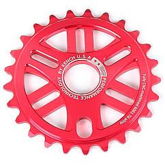 Звезда Kench 25T для BMX красная