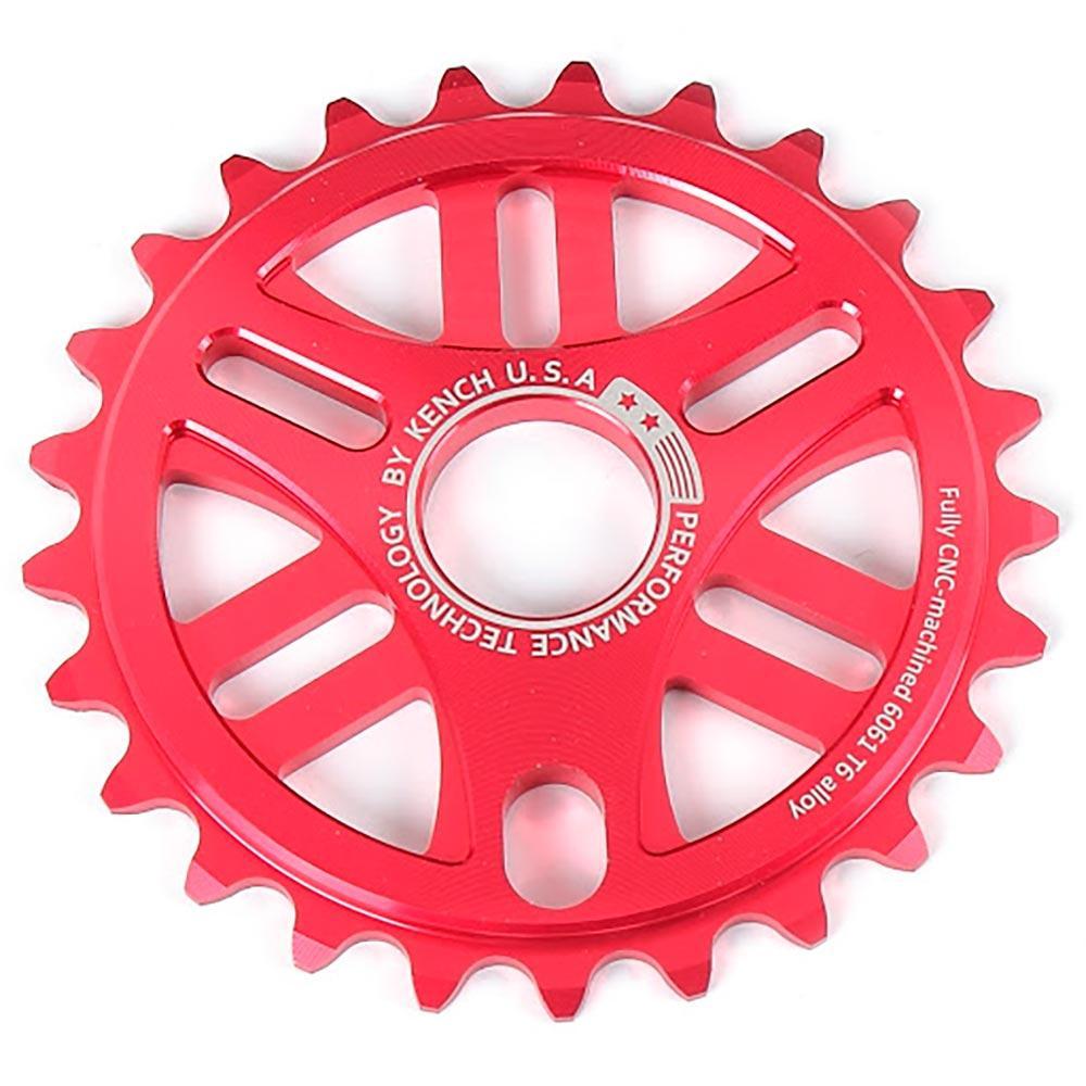 Зірка Kench 25T для BMX червона