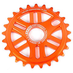 Звезда Kench 25T для BMX оранжевая