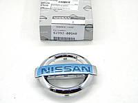 Эмблема Nissan на решетку радиатора на Ниссан Примастар с 2006 г.в. NISSAN (Оригинал) 62392-00QAB