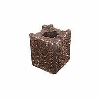 Камень навесной угловой