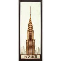 """Набор для вышивания Чарівна Мить М-190 """"Нью-Йорк"""". Смешанная техника (бисер+нитки)"""