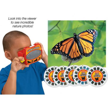 """3D очки со слайдами """"Цикл жизни"""" Lakeshore"""
