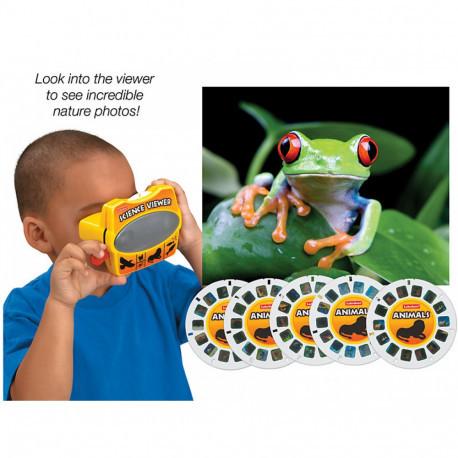 """3D очки со слайдами """"Животные"""" Lakeshore"""