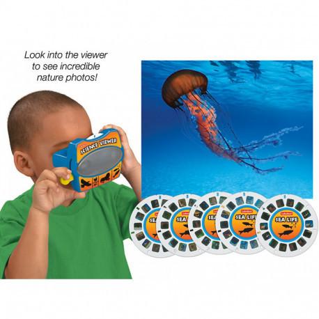 """3D окуляри зі слайдами """"Підводне життя"""" Lakeshore"""