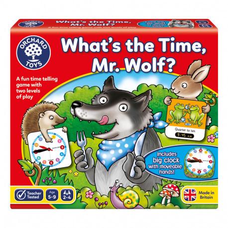 Настольная игра для изучения времени «Который час, мистер Вулф» Orchard Toys