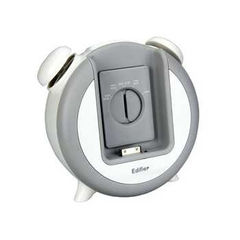Колонки Edifier iF-200 White , 2x3Wt, Apple iPod разъем, MP3 будильник, Snooze