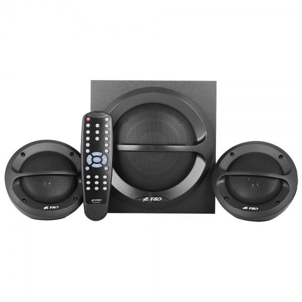 Колонки F&D A111X 2.1 Bluetooth 4.0 Black, USB, 2 х 11 Вт Сабвуфер: 13 Вт, МДФ