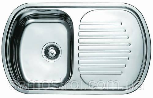 Мойка врезная 7749 Platinum сатин