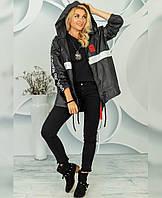 Куртка-ветровка женская батал в расцветках 60751, фото 1