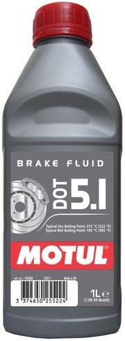 Тормозная жидкость 100% синтетическая MOTUL DOT 5.1 (1L)