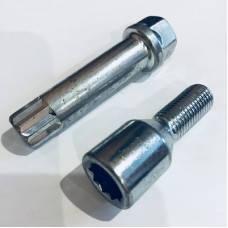 Ключ под  внутренний десятигранник 17/19 L=70мм (цинк) ITALY