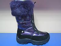 Распродажа!Зимние термо сапоги/ботинки для девочек тм Шалунишка 27р(17см стелька)