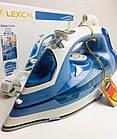 Паровой утюг Lexical LSI-1007, 2200 Вт., Синий, фото 5
