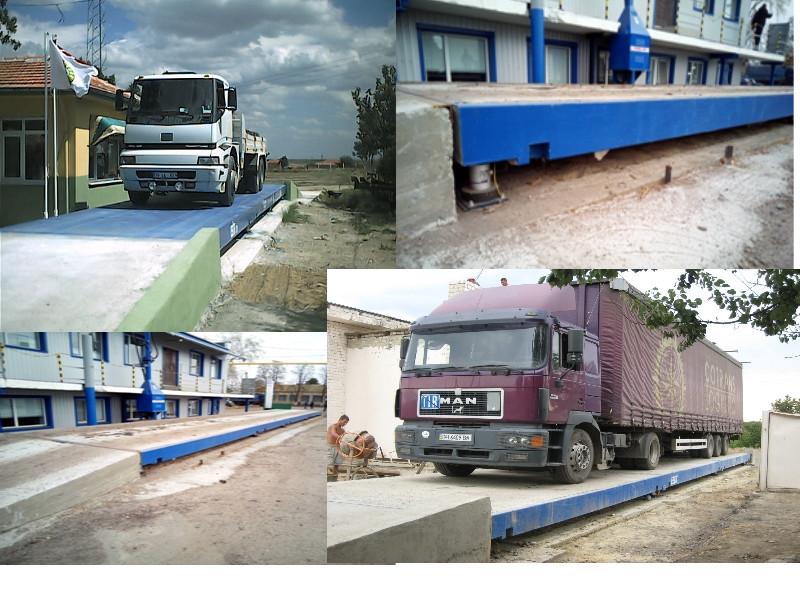 Автомобільні ваги 80 тонн с железобетонной платформой (3,5х18)м