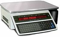 Весы настольные с печатью этикетки DiGI SM100B