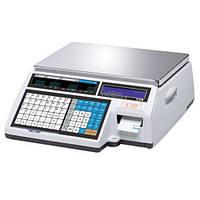 Весы с печатью этикетки  CAS CL5000J-IB (б/у с гарантией)