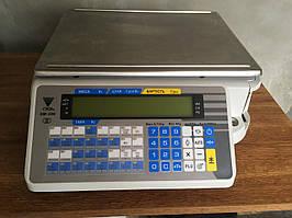 Весы с печатью этикетки DIGI  SM-300B(б/у с гарантией)