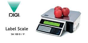 Весы с печатью этикетки Digi SM-100B б/у