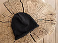 "Вязаная шапочка ""Alen"", черная, фото 3"
