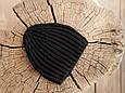"Вязаная шапочка ""Alen"", черная, фото 4"