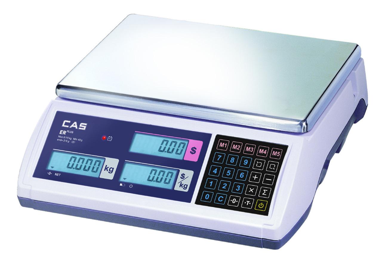 Торгові ваги CAS ER Plus E