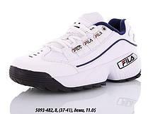 Кроссовки подростковые Fila оптом (37-41)