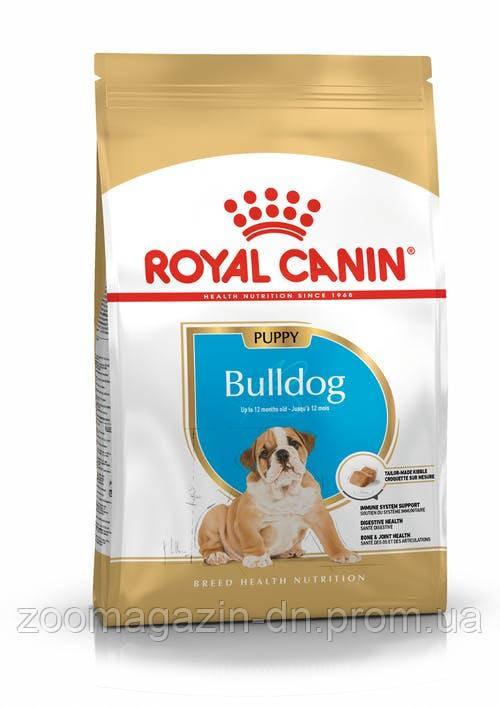Royal Canin Bulldog Puppy для щенков Бульдога до 12 месяцев 12 кг